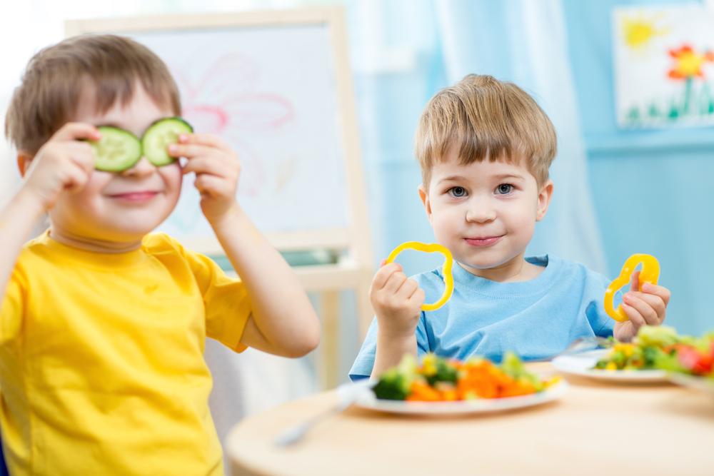 Essen mit Kindern